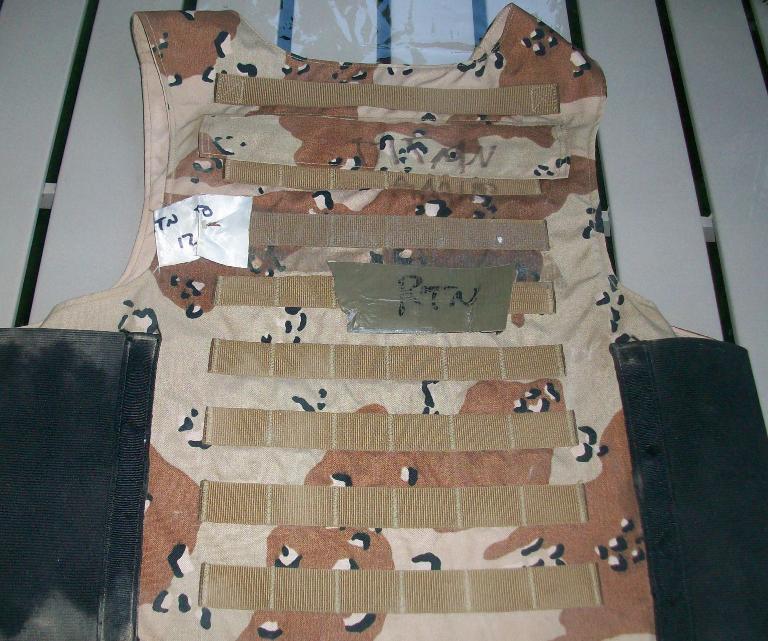 """Iraqi """"Terp"""" Body Armor 01310"""