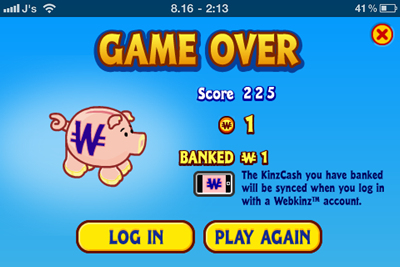 Webkinz On iPone and iPod Touch! Goobers Lab Game Awards Kinzcash to your WW Accounts Webkin10