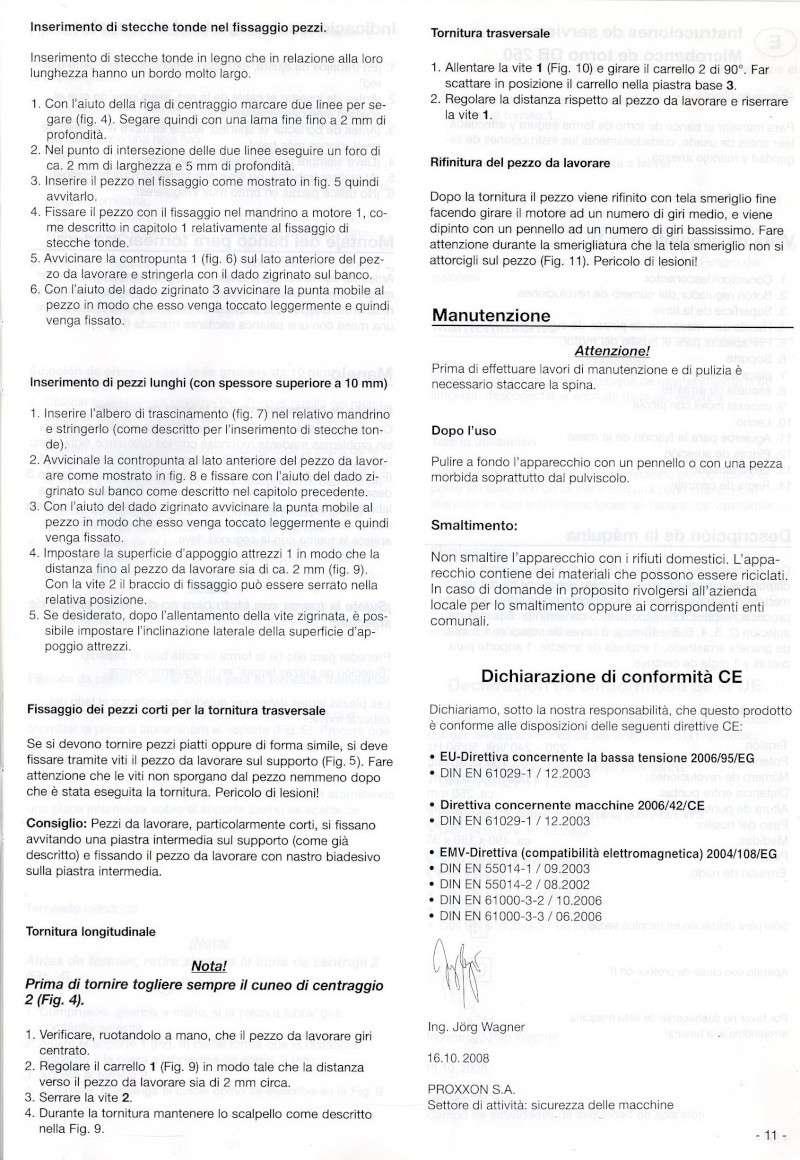 TORNIO DB250 PROXXON Pag_0210