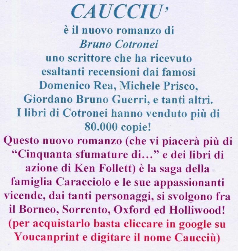 Bruno Cotronei nuove pubblicazioni Af110010