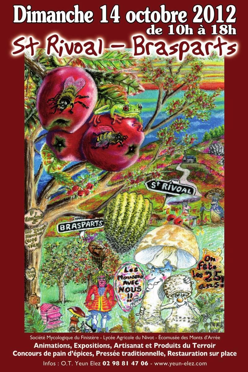 Fête de la Pomme, du Miel et des Champignons St Rivoal-Brasparts 2012 Aff_bd10