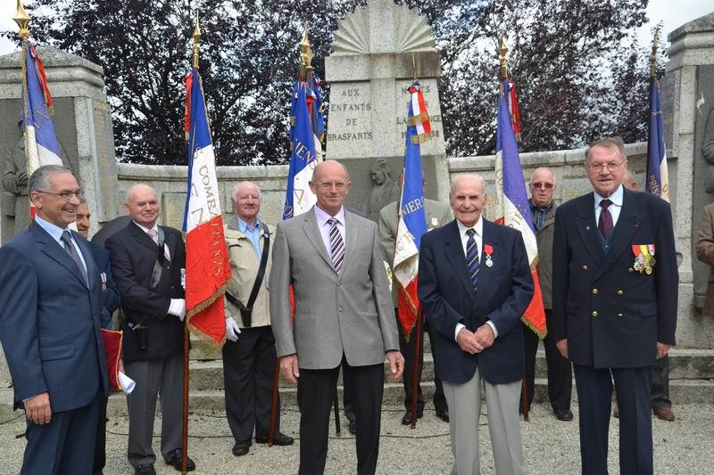 Cérémonie du 16 août 2012 - Remise de la Croix de la Légion d'Honneur à Alexis Creac'hminec Brascr12
