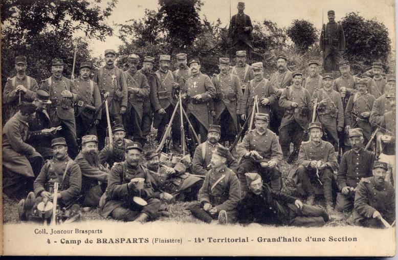 Un Régiment à Brasparts en 1914-1915: le 14ème Territorial File0027