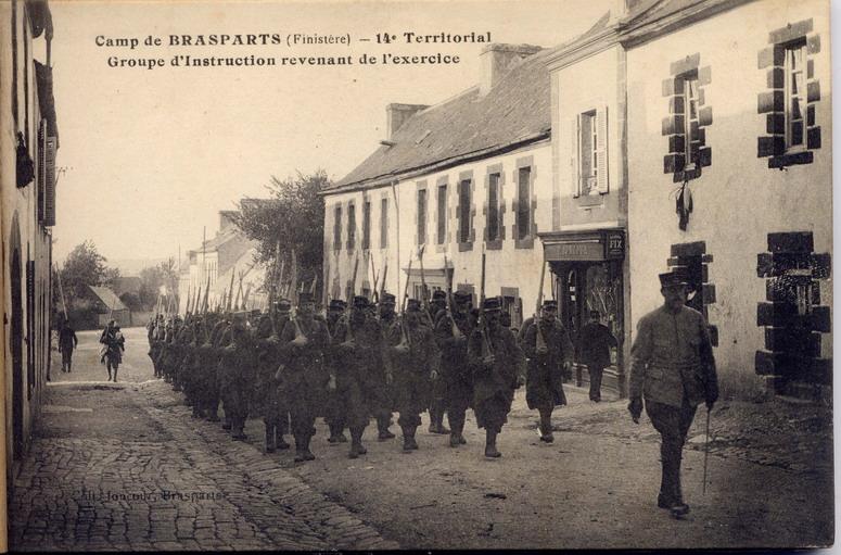 Un Régiment à Brasparts en 1914-1915: le 14ème Territorial File0028