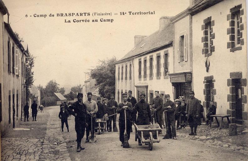 Un Régiment à Brasparts en 1914-1915: le 14ème Territorial File0029