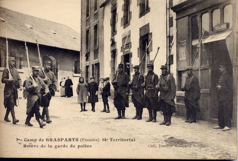 Un Régiment à Brasparts en 1914-1915: le 14ème Territorial File0030