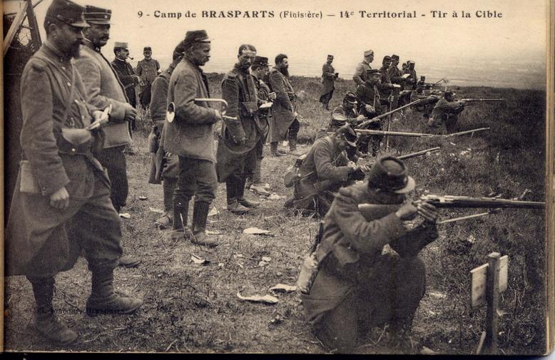 Un Régiment à Brasparts en 1914-1915: le 14ème Territorial File0032