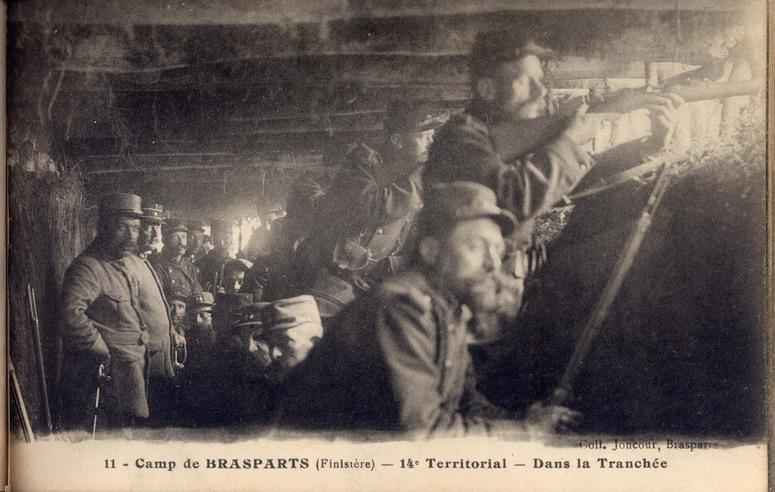 Un Régiment à Brasparts en 1914-1915: le 14ème Territorial File0034