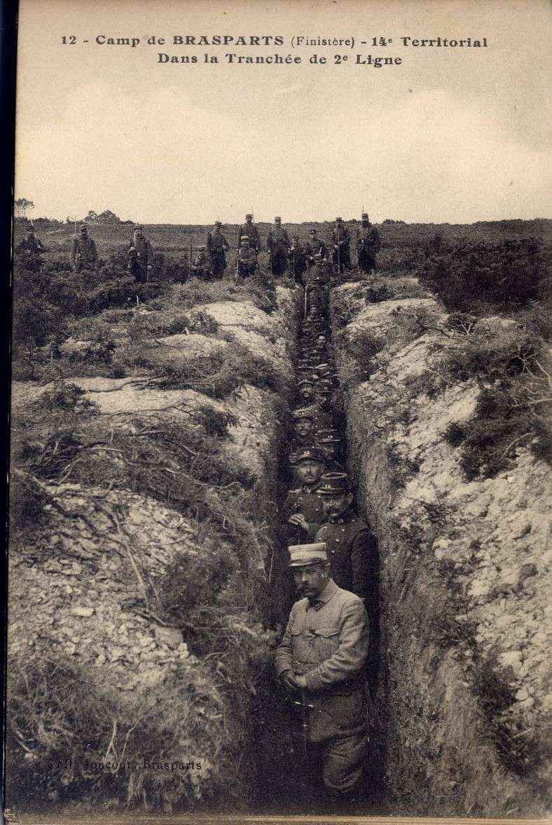 Un Régiment à Brasparts en 1914-1915: le 14ème Territorial File0035