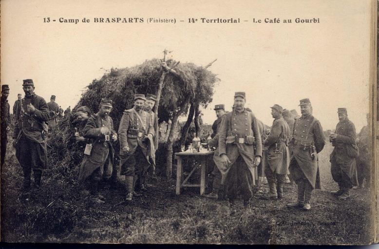 Un Régiment à Brasparts en 1914-1915: le 14ème Territorial File0036