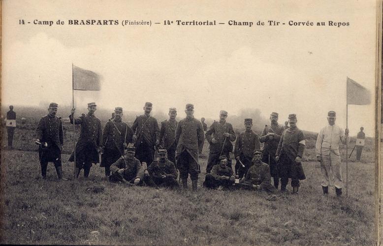 Un Régiment à Brasparts en 1914-1915: le 14ème Territorial File0037