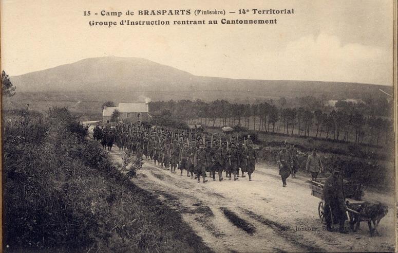 Un Régiment à Brasparts en 1914-1915: le 14ème Territorial File0038