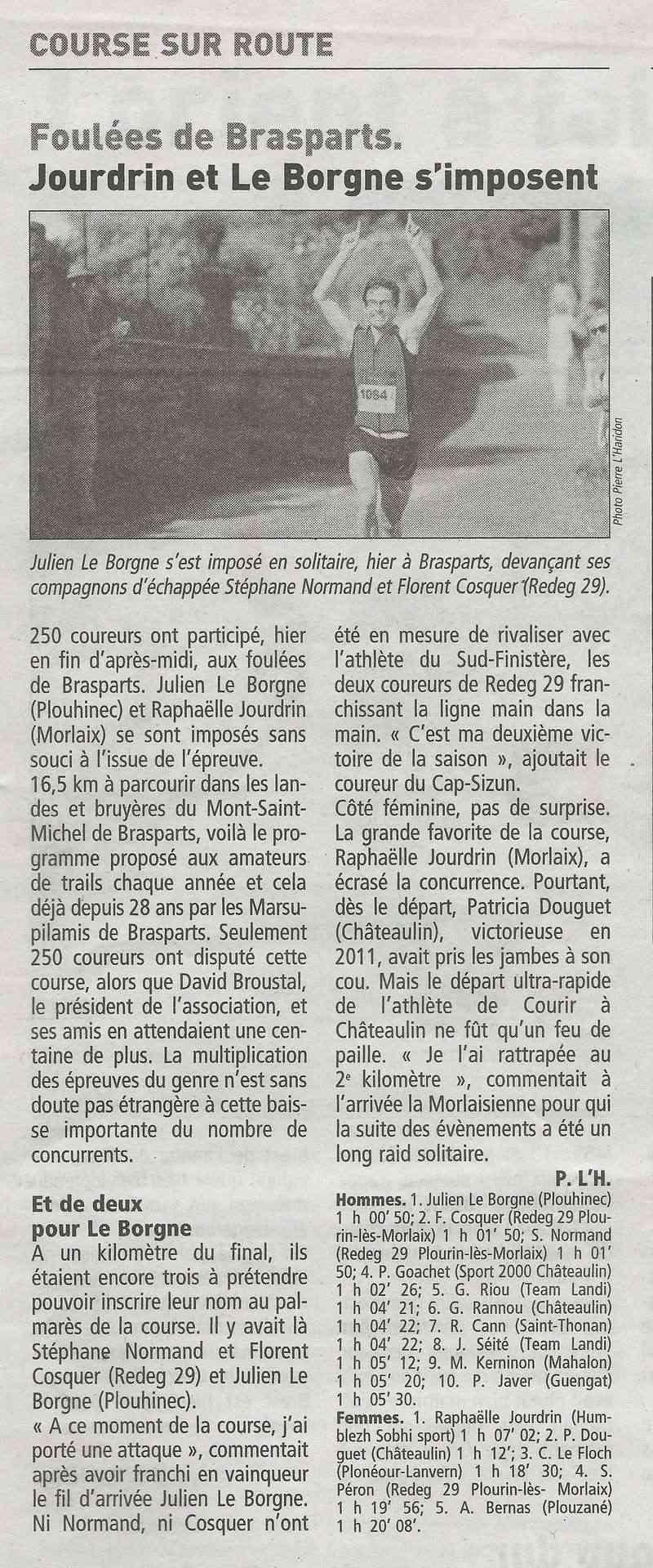 Les Foulées de Brasparts - 28ème édition - 2012 Foulae10