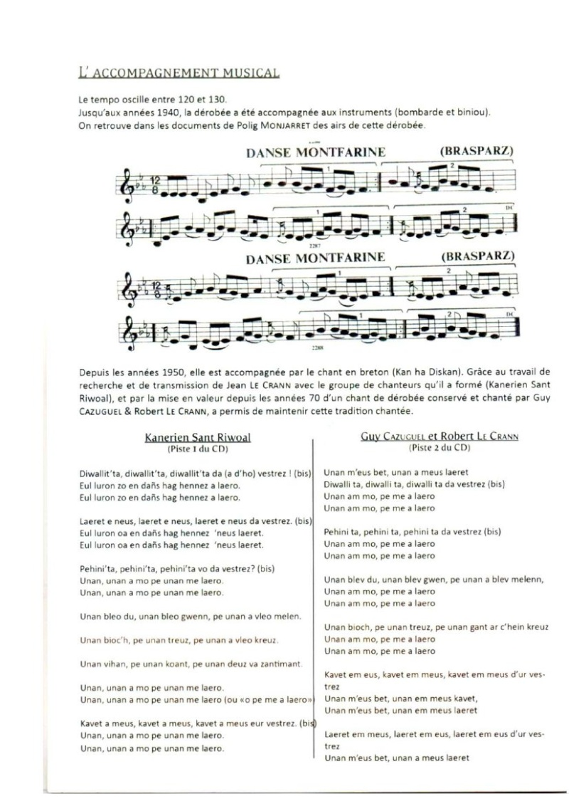 Fiches techniques des danses du Pays Brasparts-Saint Rivoal Montfa13