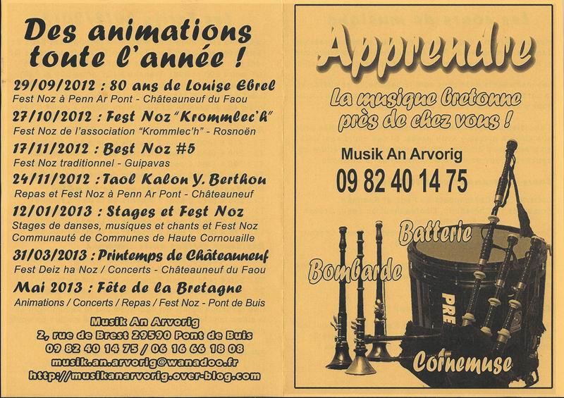Apprendre la musique bretonne près de chez vous ! Musiqu11