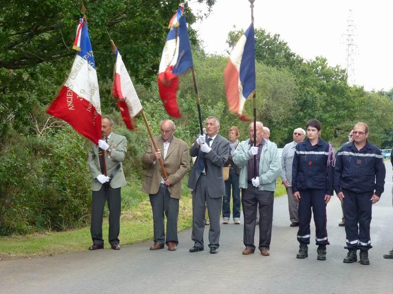 Cérémonie du 16 août 2012 - Remise de la Croix de la Légion d'Honneur à Alexis Creac'hminec P1010123