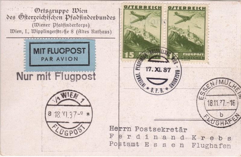 Sonderstempel Österreich, Thema Pfadfinder A00210