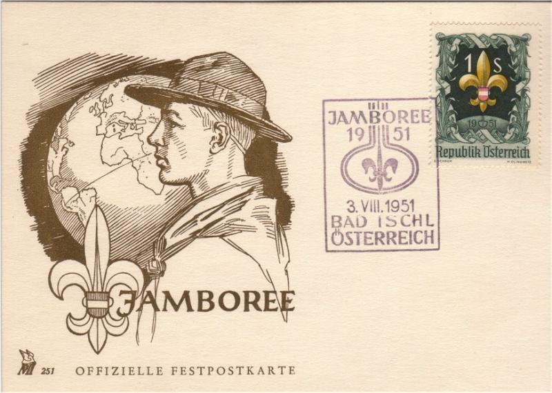Sonderstempel Österreich, Thema Pfadfinder A004as10