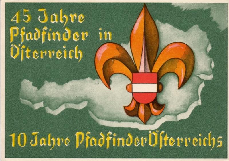 Sonderstempel Österreich, Thema Pfadfinder A006bi10