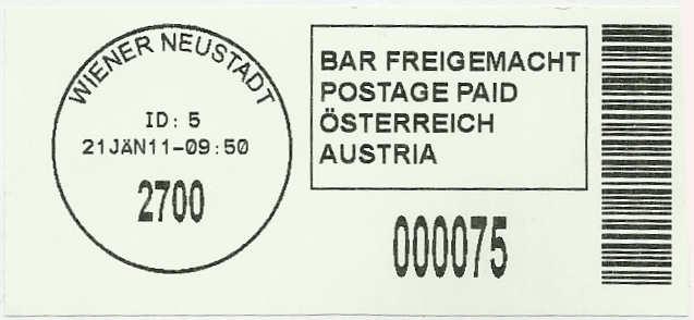 Bar-Codes in Österreich Barcod12