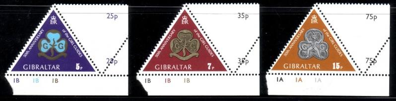 Dreieckige Briefmarken Dreiec10