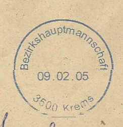 Firmenname im Ortsstempel Frsbhk11