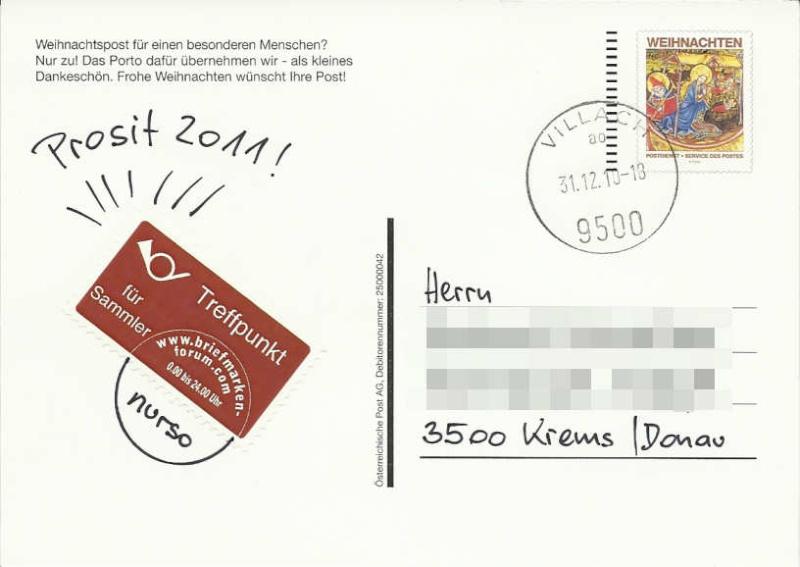 e-Postkarte Weihna10