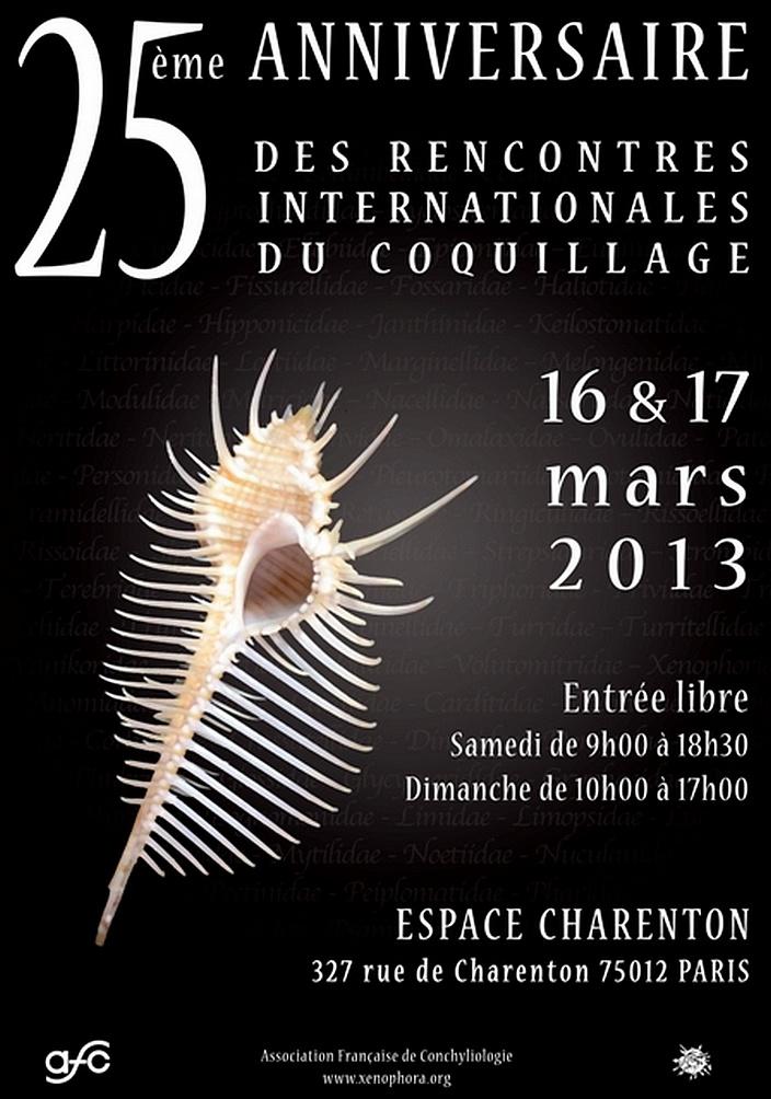 2013 Bourse internationale de Paris - 16 & 17 mars Affich10