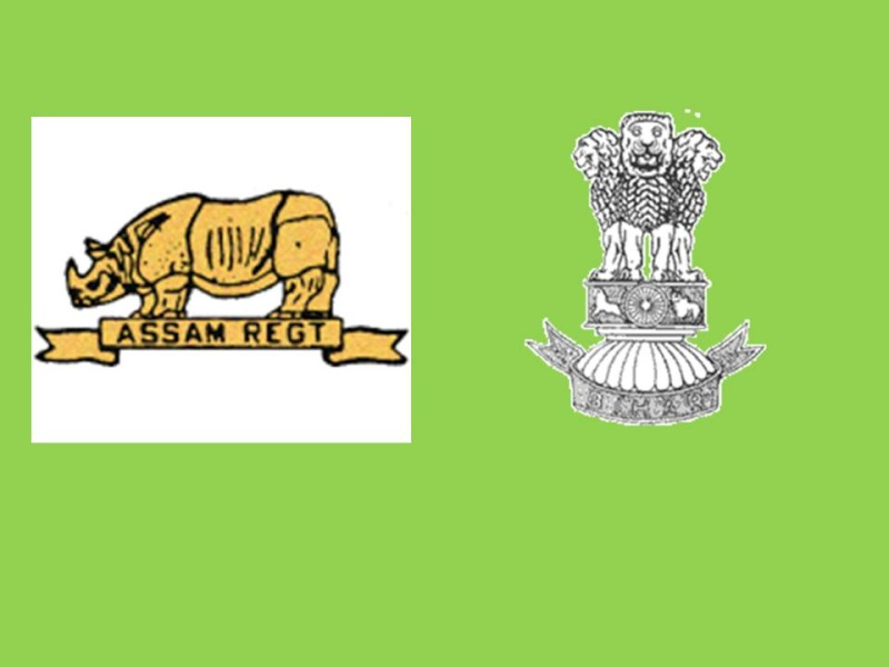 Insignes forces du Commonwealth Assam10