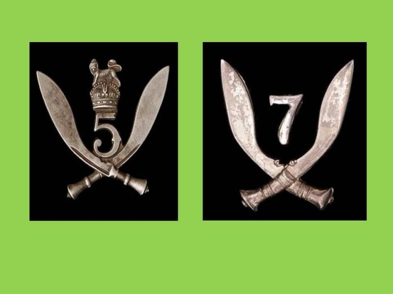Insignes forces du Commonwealth Gurkha10