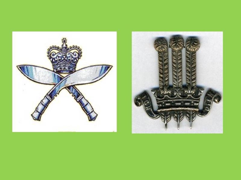Insignes forces du Commonwealth Gurkha12