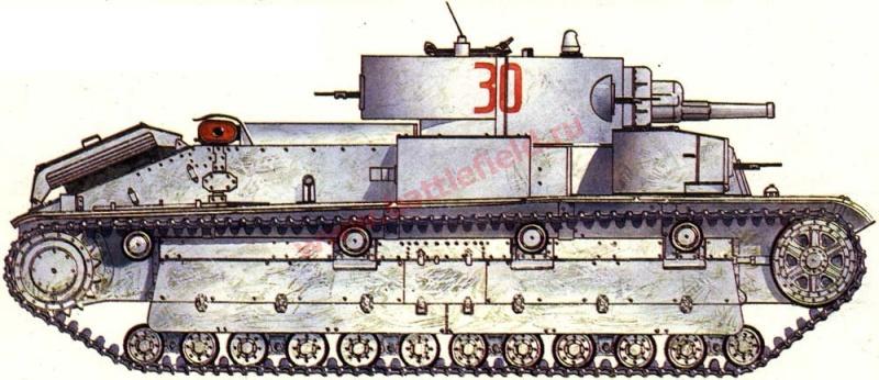 URSS : Char moyen T-28  Phoca_10