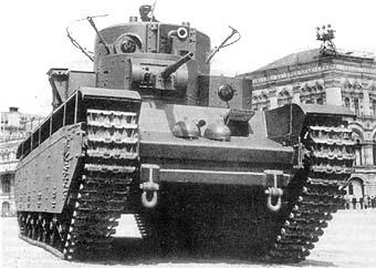 URSS - Char lourd T-35 T35_710