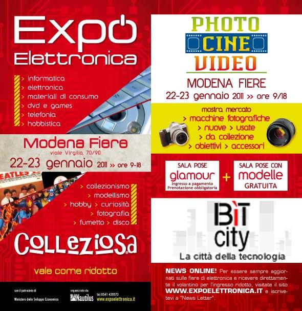 FIERA LA COLLEZIOSA - SABATO 22 e DOMENICA 23 GENNAIO a MODENA  Mo201110
