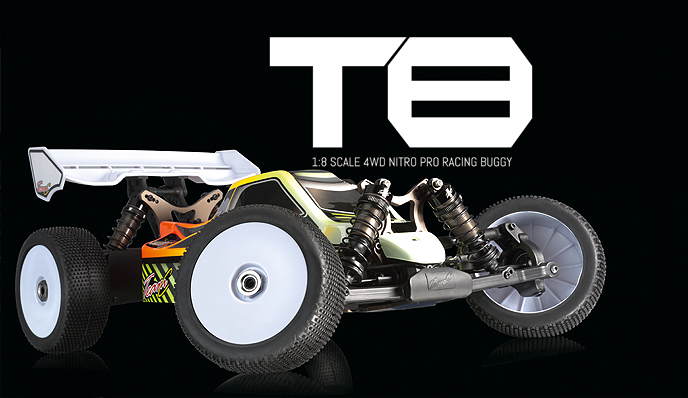 chassis 2013 TEAM C T8 T8-fro10