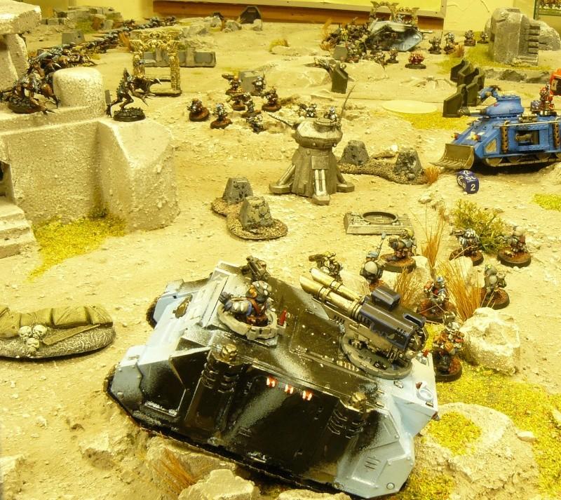 Warhammer 40K. Galerie de Batailles ! P1160411