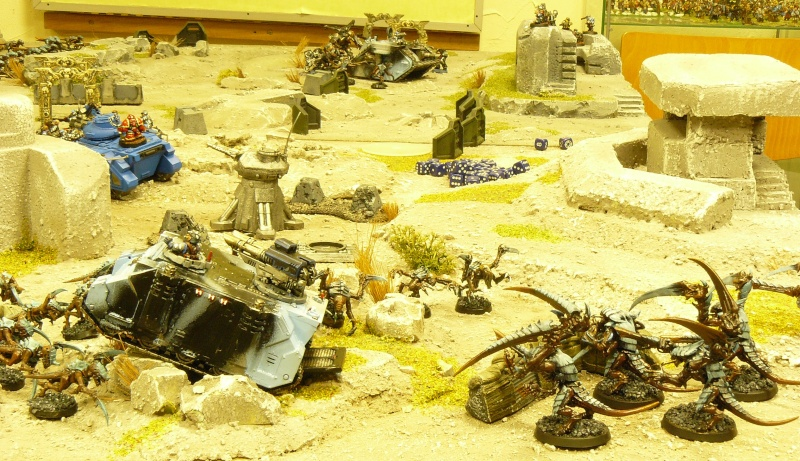 Warhammer 40K. Galerie de Batailles ! P1160416