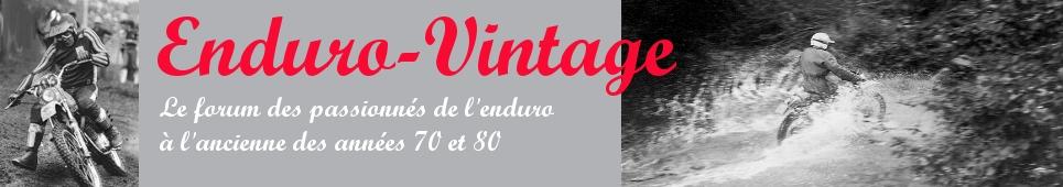Enduro-Vintage (Motos enduro et tourisme vintage)