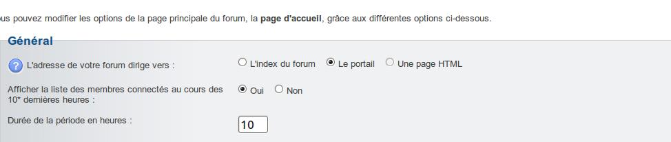 bouton PORTAIL, cela mêne sur ma page d'accueil du forum. Captu104