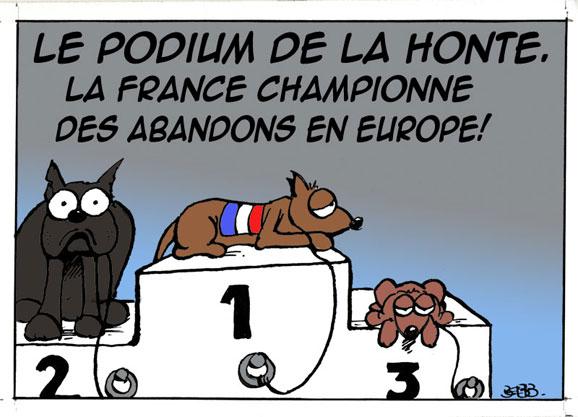 La France, première place des abandons, quelles solutions? 578pod10