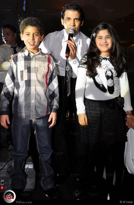 """نانسي تحتفل برأس السنة مع سعد الصغير وأدم في """"سميراميس"""" Elsuog10"""