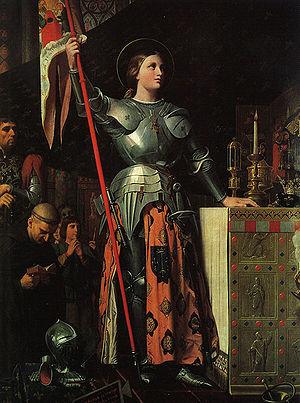 """Sainte Jeanne d'Arc,""""la pucelle d'Orléans"""" 110"""