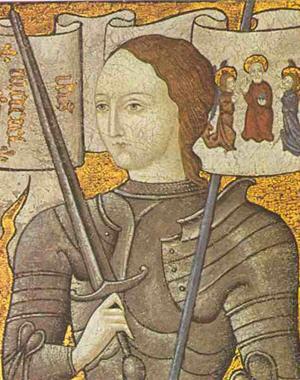 """Sainte Jeanne d'Arc,""""la pucelle d'Orléans"""" 410"""