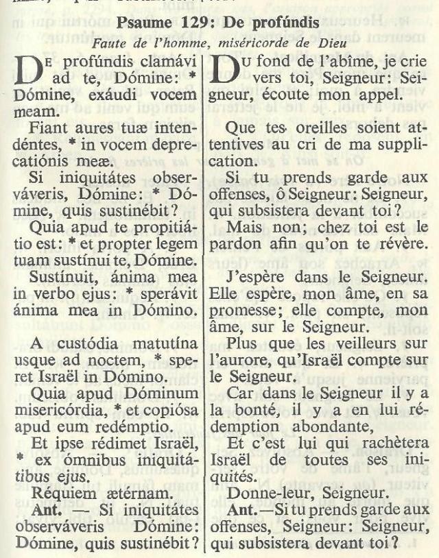 Le forum TE DEUM est en deuil Psaume13