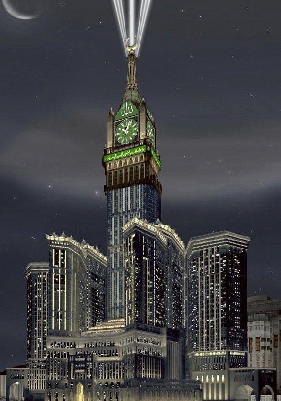 Tower Clock in Makkah ... Image011