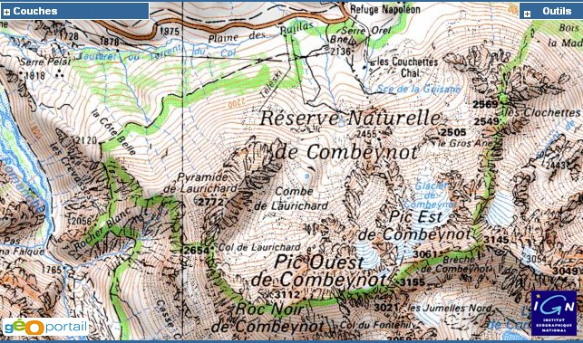 Le col Laurichard (col sans issue) Combe_10