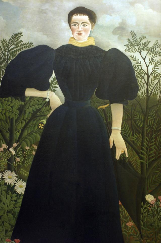 Le musée d'art naïf de Laval accueille un nouveau Rousseau Femme-10