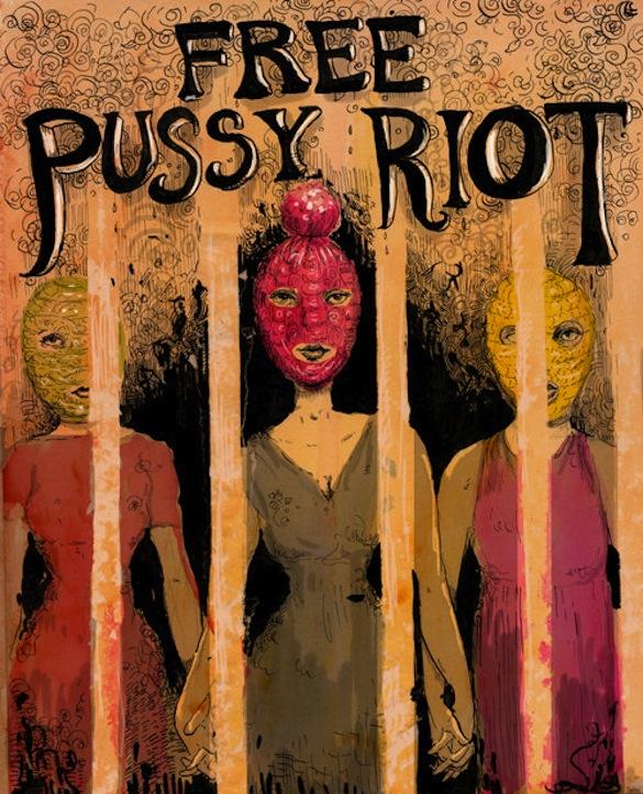 Liberez-les Pussy Riot - Free Pussy Riot Free-p11