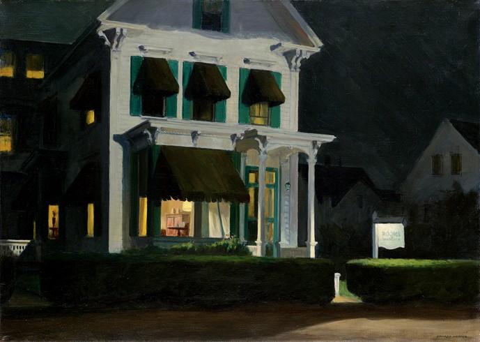 Samedi 13 octobre 2012, encadrement et film, lien avec Hopper Housef10