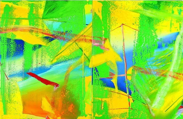 Rétrospective Gerhard Richter à Beaubourg Jaunev10